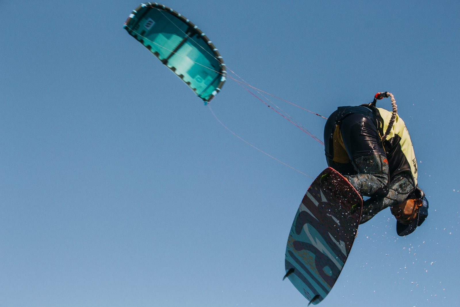 Kite Surfer trick