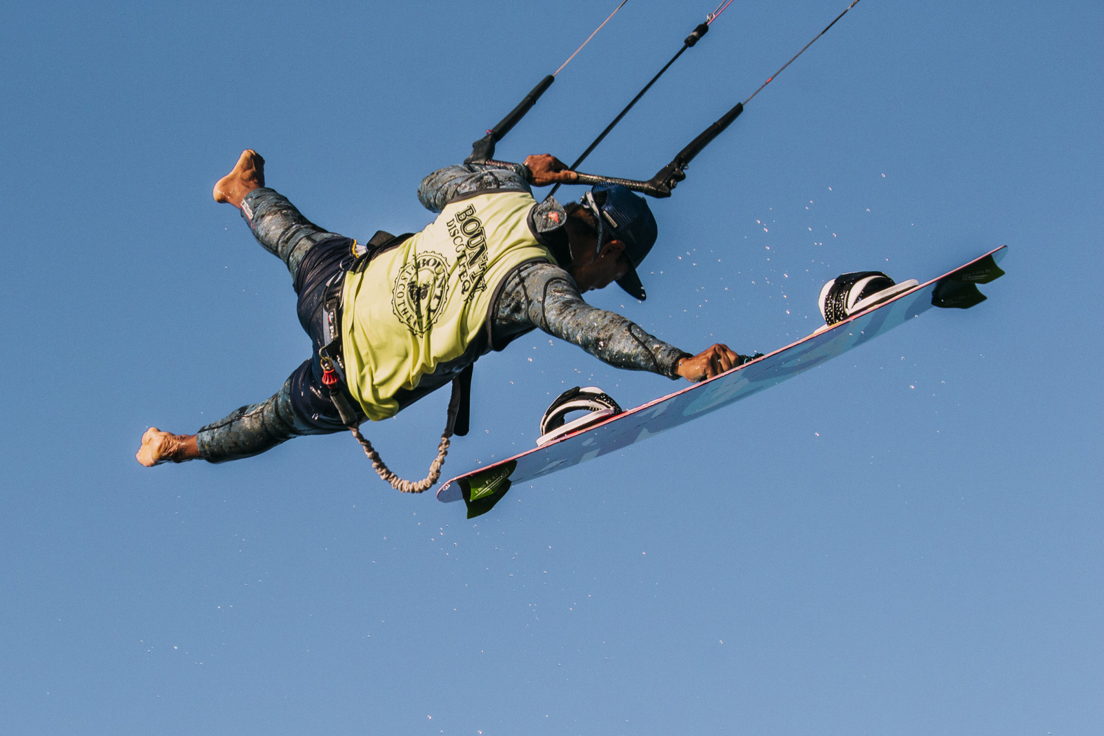 Kite Surfer Freestyle